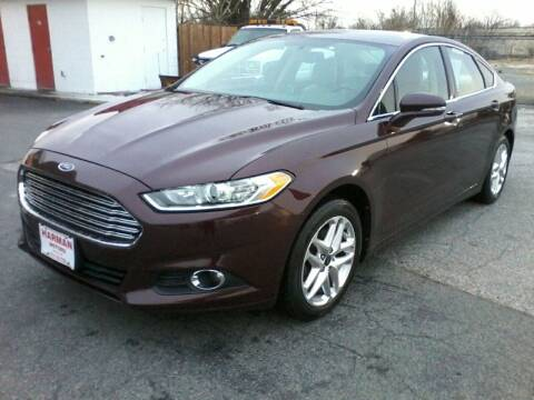 2013 Ford Fusion for sale at HARMAN MOTORS INC in Salisbury MD