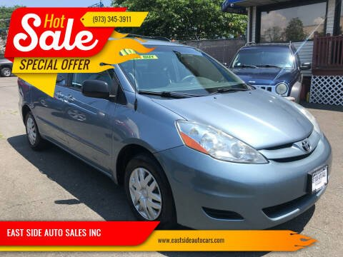 2010 Toyota Sienna for sale at EAST SIDE AUTO SALES INC in Paterson NJ