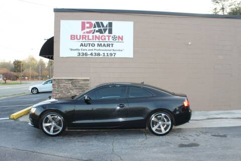 2014 Audi A5 for sale at Burlington Auto Mart in Burlington NC