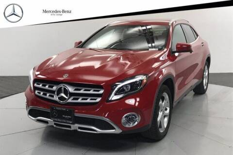 2018 Mercedes-Benz GLA for sale at Stephen Wade Pre-Owned Supercenter in Saint George UT