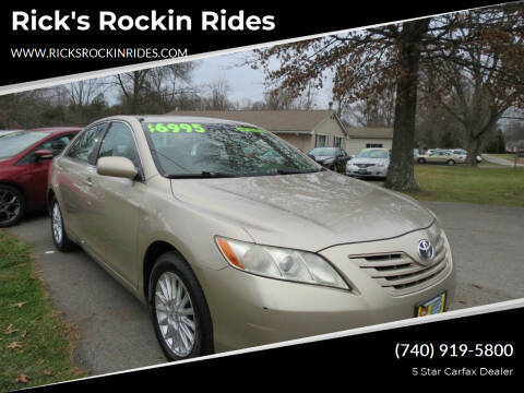2007 Toyota Camry for sale at Rick's Rockin Rides in Reynoldsburg OH