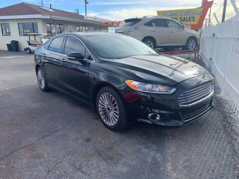 2015 Ford Fusion for sale at Robert B Gibson Auto Sales INC in Albuquerque NM