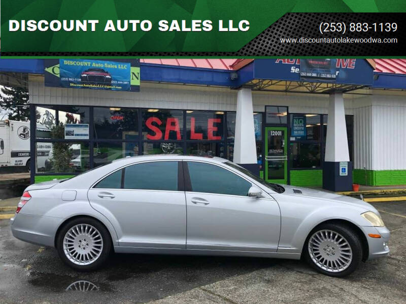 2007 Mercedes-Benz S-Class for sale at DISCOUNT AUTO SALES LLC in Spanaway WA
