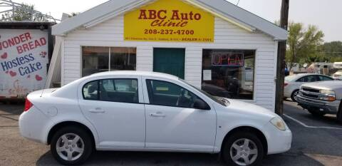 2007 Chevrolet Cobalt for sale at ABC AUTO CLINIC - Chubbuck in Chubbuck ID