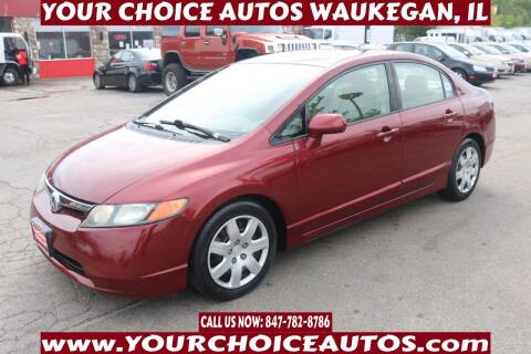 2008 Honda Civic for sale at Your Choice Autos - Waukegan in Waukegan IL