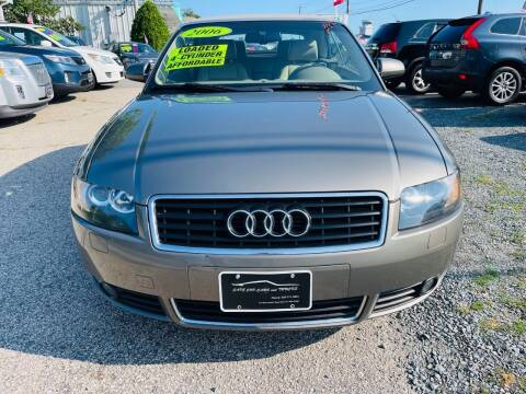 2006 Audi A4 for sale at Cape Cod Cars & Trucks in Hyannis MA