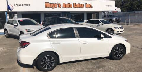 2013 Honda Civic for sale at Moye's Auto Sales Inc. in Leesburg FL