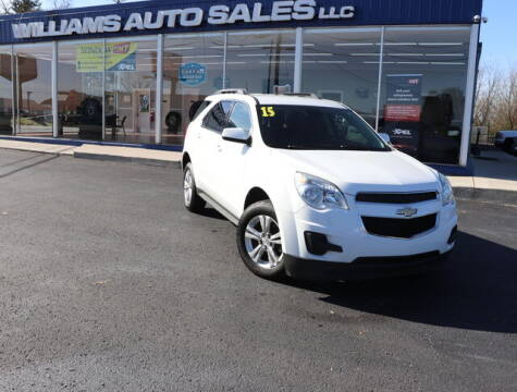 2015 Chevrolet Equinox for sale at Williams Auto Sales, LLC in Cookeville TN