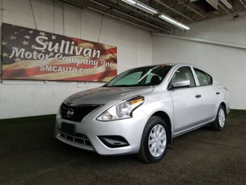 2019 Nissan Versa for sale at SULLIVAN MOTOR COMPANY INC. in Mesa AZ