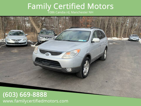 2007 Hyundai Veracruz for sale at Family Certified Motors in Manchester NH