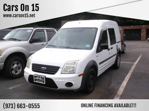 2010 Ford Transit Connect for sale at Cars On 15 in Lake Hopatcong NJ