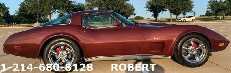 1978 Chevrolet Corvette for sale at Mr. Old Car in Dallas TX
