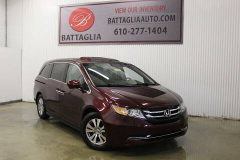 2015 Honda Odyssey for sale at Battaglia Auto Sales in Plymouth Meeting PA