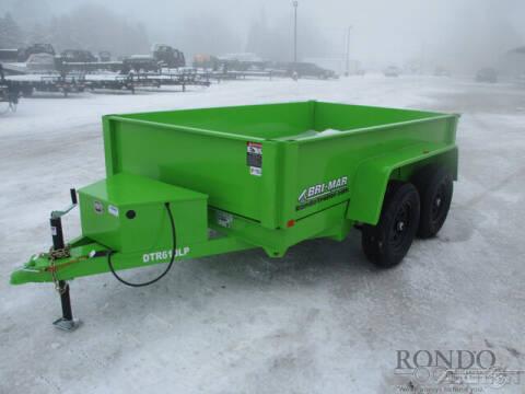 2021 Bri-Mar Dump DTR610LP-10-D for sale at Rondo Truck & Trailer in Sycamore IL