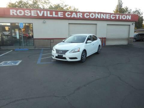 2014 Nissan Sentra for sale at ROSEVILLE CAR CONNECTION in Roseville CA