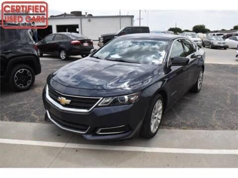 2017 Chevrolet Impala for sale at South Plains Autoplex by RANDY BUCHANAN in Lubbock TX
