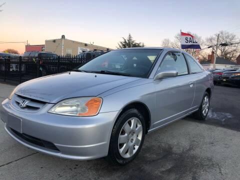 2001 Honda Civic for sale at Crestwood Auto Center in Richmond VA
