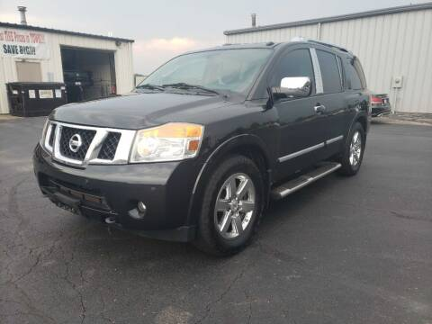 2012 Nissan Armada for sale at Used Car Factory Sales & Service Troy in Troy OH