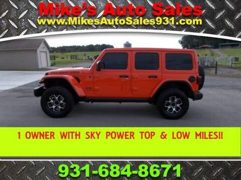 2020 Jeep Wrangler Unlimited for sale at Mike's Auto Sales in Shelbyville TN