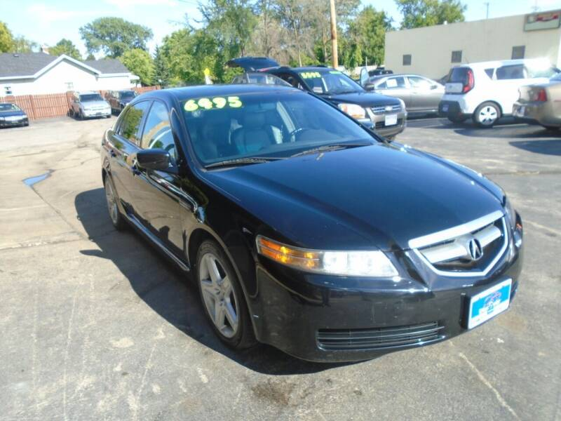 2004 Acura TL for sale at DISCOVER AUTO SALES in Racine WI