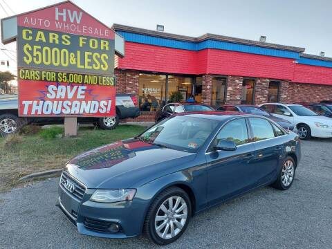 2009 Audi A4 for sale at HW Auto Wholesale in Norfolk VA