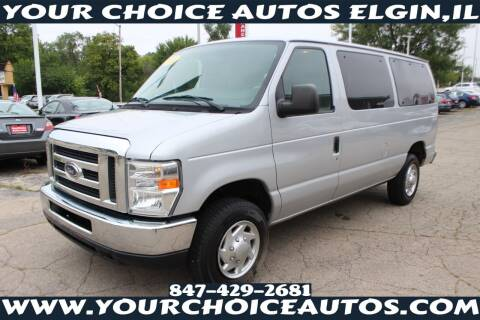 2010 Ford E-Series Wagon for sale at Your Choice Autos - Elgin in Elgin IL