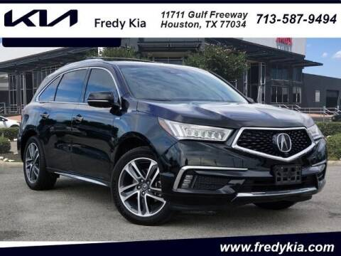 2017 Acura MDX for sale at FREDY KIA USED CARS in Houston TX