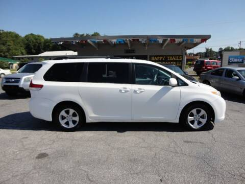 2011 Toyota Sienna for sale at HAPPY TRAILS AUTO SALES LLC in Taylors SC