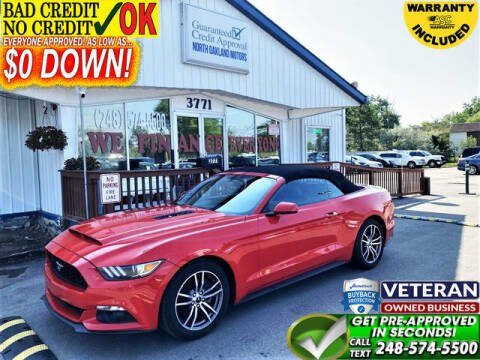 2017 Ford Mustang for sale at North Oakland Motors in Waterford MI