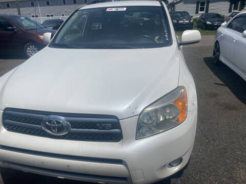 2007 Toyota RAV4 for sale at Whiting Motors in Plainville CT