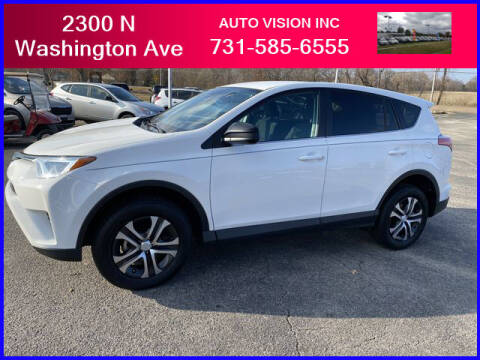2018 Toyota RAV4 for sale at Auto Vision Inc. in Brownsville TN