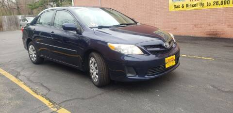 2012 Toyota Corolla for sale at Exxcel Auto Sales in Ashland MA