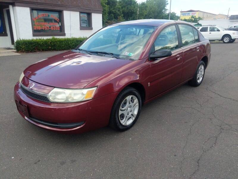 2003 Saturn Ion for sale at Cash 4 Cars in Penndel PA