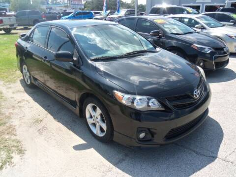 2011 Toyota Corolla for sale at ORANGE PARK AUTO in Jacksonville FL
