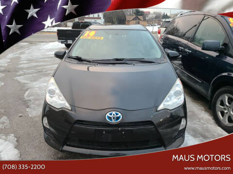 2014 Toyota Prius c for sale at MAUS MOTORS in Hazel Crest IL