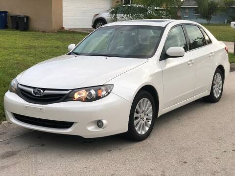 2010 Subaru Impreza for sale at Internet Motorcars LLC in Fort Myers FL