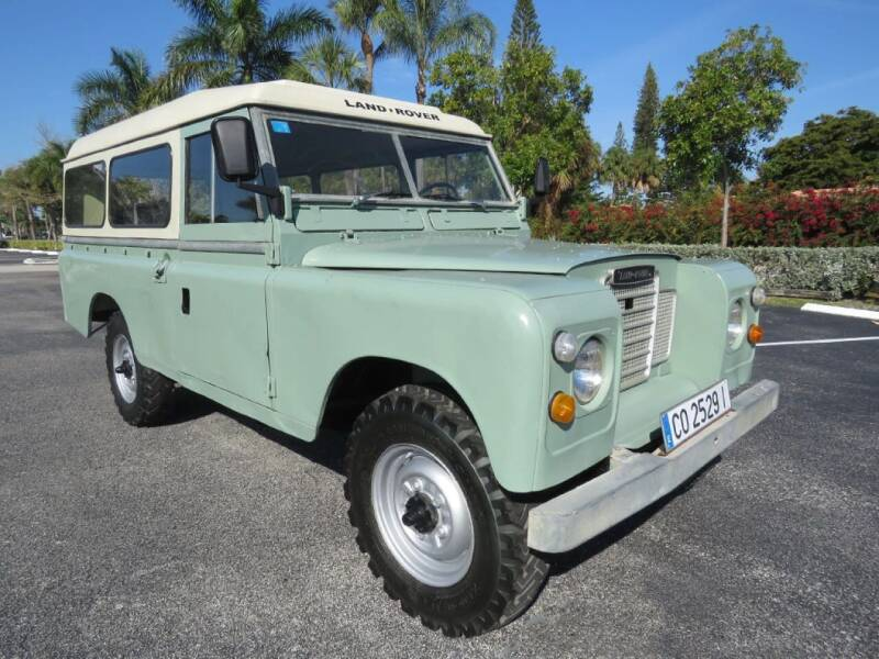 1979 Land Rover Defender / Santana 109 for sale at Progressive Motors in Pompano Beach FL