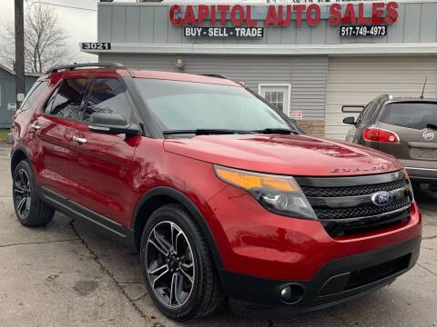 2013 Ford Explorer for sale at Capitol Auto Sales in Lansing MI