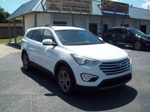 2013 Hyundai Santa Fe for sale at LONGSTREET AUTO in Saint Augustine FL