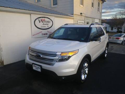 2014 Ford Explorer for sale at VICTORY AUTO in Lewistown PA