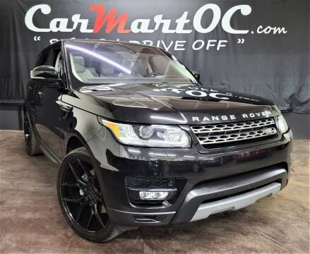 2016 Land Rover Range Rover Sport for sale at CarMart OC in Costa Mesa, Orange County CA