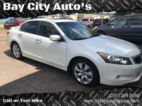 2010 Honda Accord for sale at Bay City Auto's in Mobile AL