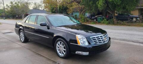2010 Cadillac DTS for sale at G&J Car Sales in Houston TX