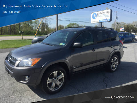 2012 Toyota RAV4 for sale at R J Cackovic Auto Sales, Service & Rental in Harrisburg PA