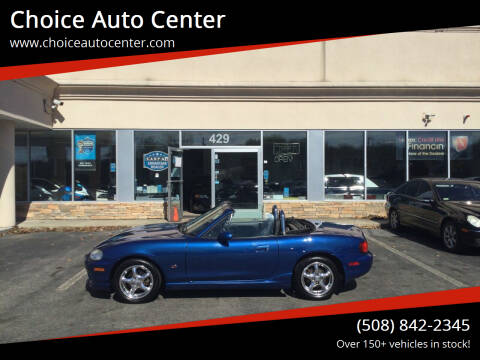 1999 Mazda MX-5 Miata for sale at Choice Auto Center in Shrewsbury MA