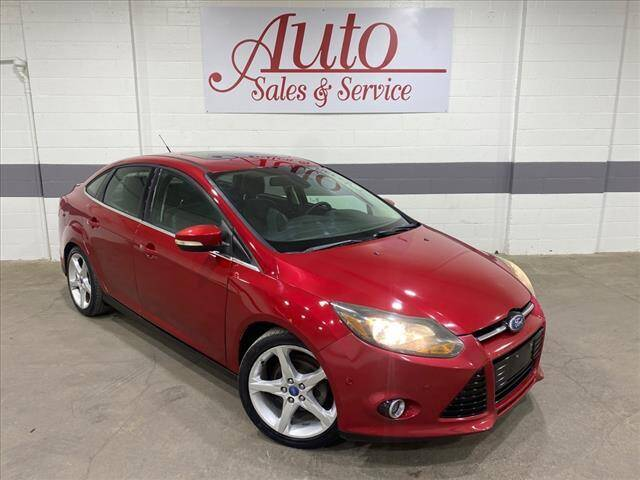 2012 Ford Focus for sale at Auto Sales & Service Wholesale in Indianapolis IN