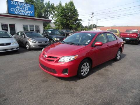 2011 Toyota Corolla for sale at Surfside Auto Company in Norfolk VA