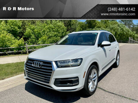 2017 Audi Q7 for sale at R & R Motors in Waterford MI