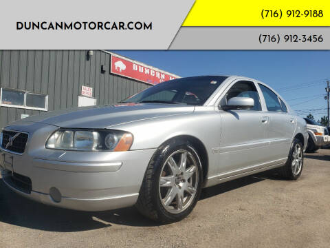 2006 Volvo S60 for sale at DuncanMotorcar.com in Buffalo NY