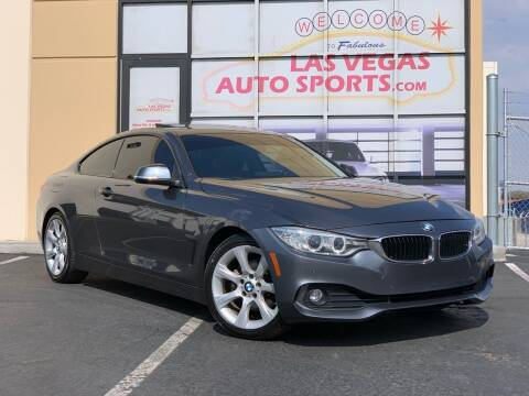 2015 BMW 4 Series for sale at Las Vegas Auto Sports in Las Vegas NV